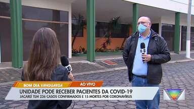 Jacareí finaliza obras de hospital de retaguarda - Unidade pode receber pacientes da Covid-19.