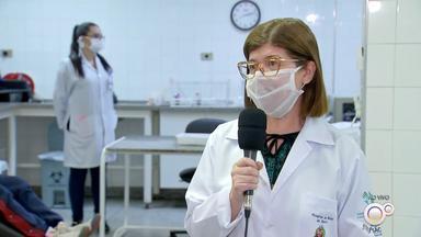 Hemonúcleo de Bauru está com estoques baixos e precisa de doadores - Os estoques de sangue do Hemonúcleo do Hospital de Base de Bauru estão muito baixos. A pandemia e o frio contribuíram pra baixar o número de doadores.