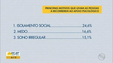 Isolamento social motiva procura por atendimento psicológico - Isolamento social motiva procura por atendimento psicológico.