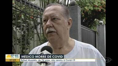 Médico Rafael Mussielo morre de Covid-19, aos 76 anos - Ginecologista e obstetra estava internado em um hospital da Capital