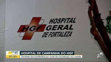 Hospital de campanha do HGF está interditado - Saiba mais em g1.com.br/ce