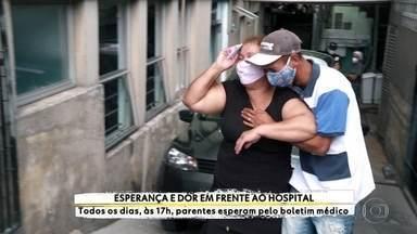 Profissão Repórter passa 40 dias acompanhando a dor de parentes no hospital Tide Setúbal - Hospital é referência no tratamento da Covid-19 e todos os dias, às 17h, divulga o boletim médico aos parentes