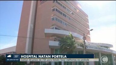 Justiça dá prazo de 72 horas para hospital Natan Portela realizar melhorias na unidade - Justiça dá prazo de 72 horas para hospital Natan Portela realizar melhorias na unidade