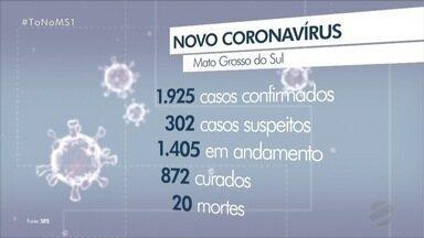 Estudo aponta que sozinha, Campo Grande teria pico da pandemia em 21 de Julho - Situação dos leitos preocupa com o avanço dos casos de COVID-19 no interior do estado