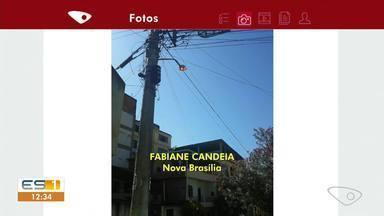 Moradores de Cachoeiro reclamam da iluminação pública - Assista ao vídeo!