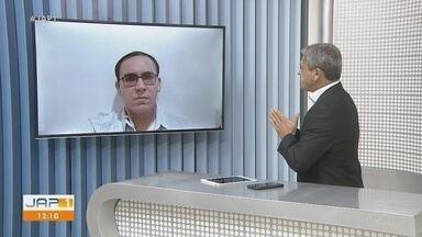 Especialista amapaense tira dúvidas sobre tipos de exames para detecção do coronavírus - Patrício Almeida é doutor em biologia de agentes infecciosos e parasitários.