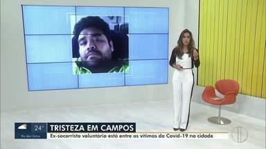 Ex-socorrista do Grupo de Resgate Voluntário de Campos, RJ, morre vítima da Covid-19 - Thiago Maciel tinha 35 anos e faleceu na noite desta terça-feira (2). Ele atuou no Grupo de Resgate Voluntário em 2017.