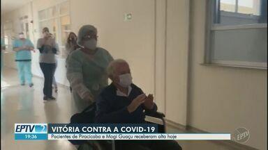 Recuperado da Covid-19, idoso residente do Lar Betel recebe alta em Piracicaba - Após 38 dias de internação, paciente recebeu alta médica com melhora total, ou seja, sem nenhum sintoma da doença.