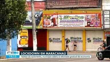 Apesar de isolamento mais rígido, Maracanaú aderiu a retomada gradual da economia - Saiba mais em: g1.com.br/ce
