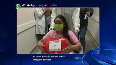 Pacientes de Tatuí recebem alta hospitalar após tratamento contra a Covid-19 - Pacientes de Tatuí receberam alta hospitalar, nesta quinta-feira (4), após tratamento contra a Covid-19.