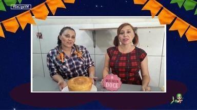 Dica de receita: aprenda a fazer um delicioso bolo de milho - Mariana e Ana Mari Vasconcelos são especialistas na delícia junina