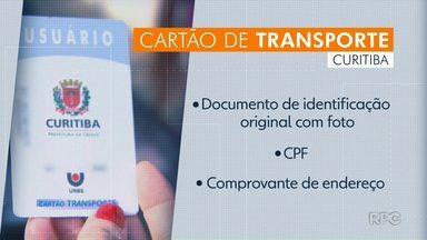 Micro-ônibus faz cartão para transporte público - Veículo vai percorrer vários pontos da capital pra quem quiser fazer o cartão. Pra saber os endereços: www.urbs.curitiba.pr.gov.br