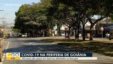 Aumenta número de casos de Covid-19 na periferia de Goiânia - Pesquisa da UFG aponta que a região pode ser novo epicentro da doença na capital.
