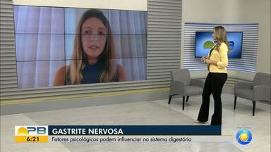 Gastrite Nervosa; fatores psicológicos podem influenciar no sistema digestivo - Especialista fala sobre o tema.
