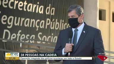Secretário de Segurança faz balanço da 7ª fase da Operação Caim no ES - Alexandre Ramalho faz um balanço das ações de combate ao crime no estado.