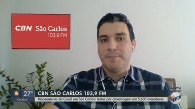 Mapeamento de disseminação do coronavírus vai testar 5,6 mil pessoas em São Carlos - Programa consiste em visitar, entrevistar e realizar exames em pessoas selecionadas pelos pesquisadores para verificar a velocidade que a doença está se propagando.