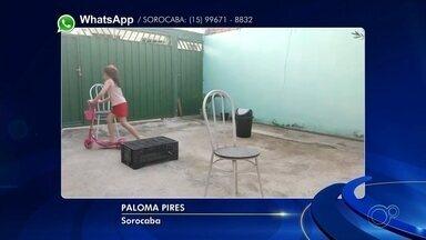 Moradores fazem exercícios dentro de casa durante pandemia - Confira vídeos dos moradores da região que resolveram se exercitar dentro de casa durante a quarentena.