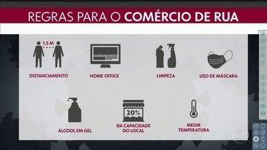 SP2 - Edição de terça-feira, 09/06/2020 - Comércio de rua reabre nesta quarta-feira na capital. Pesquisa mostra do que os paulistanos sentem mais falta durante a pandemia.
