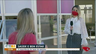 Saúde e Bem Estar: especialista fala sobre a importância do teste do pezinho - Assista ao vídeo.