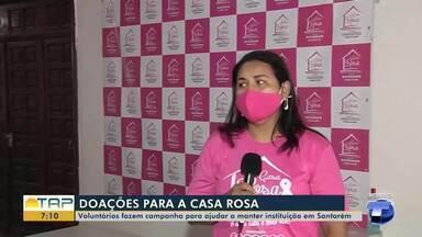 'Casa Rosa' conta com ajuda de doações para atender demanda de pacientes - Saiba como ajudar.