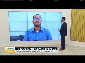 Governador Valadares registra 22ª morte por Covid-19 - Casos confirmados do novo coronavírus passam de 300 na cidade.