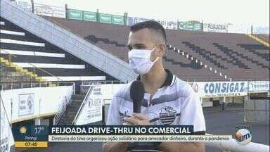 Comercial organiza feijoada 'drive-thru' para arrecadar dinheiro - Partidas esportivas foram canceladas por conta da pandemia do novo coronavírus.