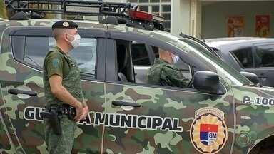 Barreira de segurança é montada nesta sexta-feira em Jundiaí - Uma barreira de segurança será formada nesta sexta-feira (12) em Jundiaí (SP). Um dos locais é a Estrada Santa Clara, que dá acesso à Serra do Japi.