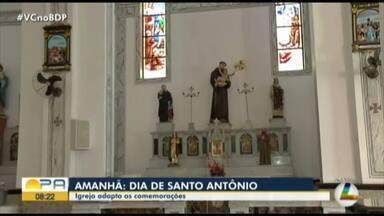 Igrejas iniciam a programação da festividade de Santo Antônio - Igrejas iniciam a programação da festividade de Santo Antônio