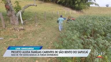 Projeto ajuda famílias carentes de São Bento do Sapucaí - Mais de 700 cestas básicas já foram distribuídas.