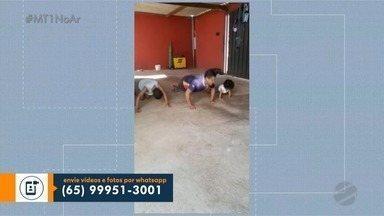 Atividades físicas durante a quarentena - Atividades físicas durante a quarentena.