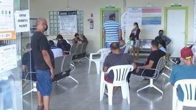 Pacientes reclamam da demora no atendimento, da falta de exames e leitos na UPA - Pacientes reclamam da demora no atendimento, da falta de exames e leitos na UPA