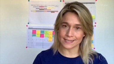 'Mundo Gentil': dicas para que os netos não percam o contato com os avós - Fernanda Gentil sugere que criar rotinas para fazer ligações em vídeo para os avós e criar interações de alguma forma