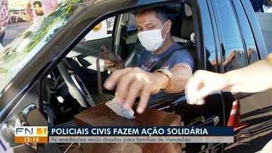 Policiais civis realizam ação solidária em prol de famílias carentes - Arrecadações são em Presidente Venceslau.