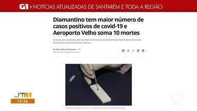 Confira as notícias em destaque no G1 Santarém e Região - Acesse as reportagens completas no g1.com.br/tvtapajos