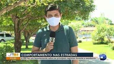 PRF em Santarém faz levantamento sobre principais registros durante pandemia - Saiba como tem sido o comportamento dos condutores de veículos nas estradas.