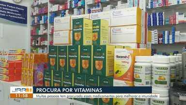 Procura por vitaminas que fortalecem a imunidade aumenta em Roraima - Muitas pessoas tem procurado esses medicamentos para melhorar a imunidade