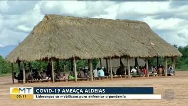 Indígenas do Xingu constroem oca pra isolamento de casos suspeitos de Covid-19 - Indígenas do Xingu constroem oca pra isolamento de casos suspeitos de Covid-19