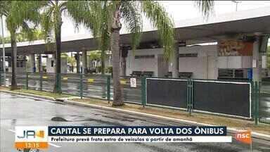 Prefeitura de Florianópolis divulga horários para funcionamento do transporte coletivo - Prefeitura de Florianópolis divulga horários para funcionamento do transporte coletivo
