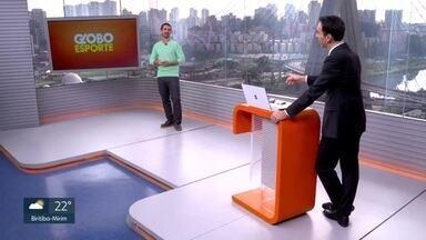 Veja o bloco do Globo Esporte no SP1 de terça-feira, 16/06/2020 - Veja o bloco do Globo Esporte no SP1 de terça-feira, 16/06/2020
