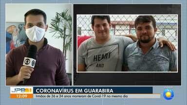 Irmãos morrem de Covid-19 no mesmo dia; confira os números de casos na PB - Mais de 650 mortes por coronavírus e 28.668 casos da doença foram confirmados na Paraíba.