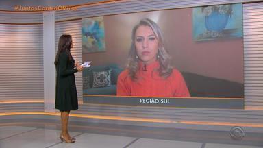 Santana do Livramento adota toque de recolher no combate ao coronavírus - Cidade está classificada como risco alto para coronavírus. Comércio está fechado.