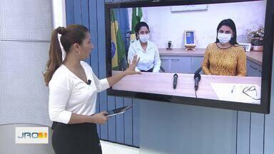 AROM aponta como positiva a flexibilização da abertura do comércio em RO - A representante da Associação Rondoniense de Municípios faz balanço de decisão do governo de alterar regras de distanciamento social.