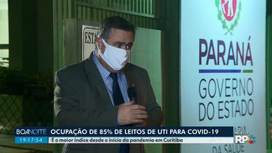 Secretário de Saúde do Paraná fala sobre aumento expressivo de mortes e casos de Covid-10 - Foram 30 mortes e 841 casos confirmados nas últimas 24 horas.