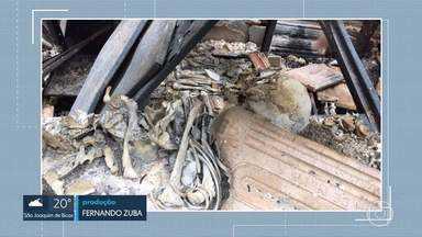 Após incêndio, Polícia Federal começa a perícia no Museu de História Natural da UFMG - Na segunda-feira (15), o fogo destruiu parte do prédio da reserva técnica do museu, que fica no bairro Horto, em Belo Horizonte. O acervo reúne mais de 265 mil itens, ligados a diversas áreas do conhecimento.