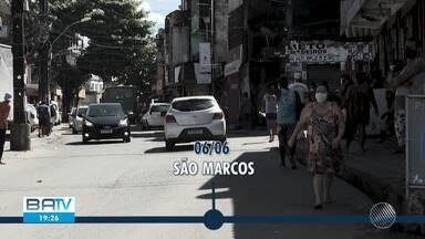 Saiba quais são os bairros de Salvador que implementaram medidas de restrição - Mais da metade do total de pessoas infectas pelo coronavírus vivem na capital baiana, que tem medidas restritivas mais severas de isolamento em diversos pontos.