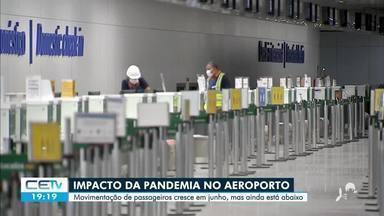 Impacto da pandemia no aeroporto de Fortaleza e a perspectiva para o turismo no estado - Saiba mais em g1.com.br/ce