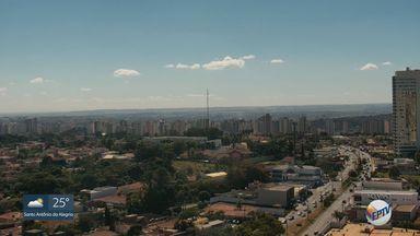 Veja a previsão do tempo para esta quarta-feira (17) na região de Ribeirão Preto - Temperatura máxima deve ser de 28ºC.