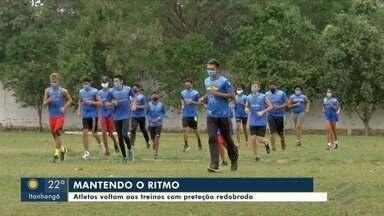 Projeto de atletismo retoma atividades em VG - Projeto de atletismo retoma atividades em VG.