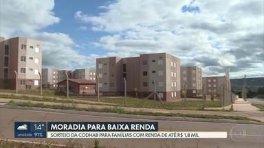 Codhab vai sortear 272 apartamentos em condomínio habitacional de São Sebastião - Programa de moradia do GDF vai beneficiar famílias com renda até R$ 1,8 mil.