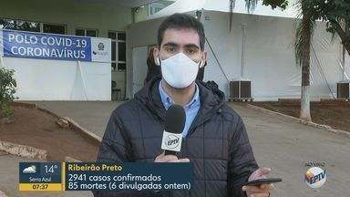 Mais de 2 mil pessoas esperam resultados de testes da Covid-19 em Ribeirão Preto - Somente na quarta-feira, cidade confirmou 226 novos casos.